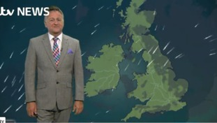 Late weather forecast for Wednesday