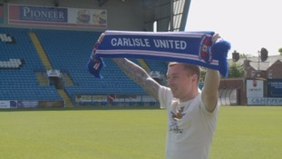 Carlisle United sign Northampton Town winger