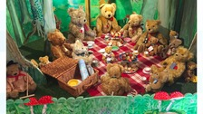 Teddy Bear collection goes on display in North Yorkshire