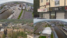 We travel to the Newcastle, Gateshead and Durham to look at how regeneration will be affected