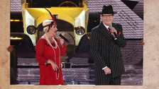 Anne and Ian take to the BGT stage.