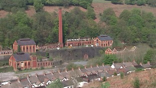 The Ebbw Valley colliery