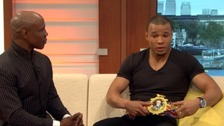 NICK BLACKWELL: 'Eubank can't give me his belt'