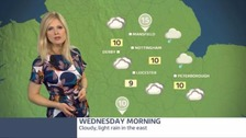 Rather cloudy with an increasing chance of rain during the day, perhaps heavy at times later across northern parts.