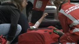 Child receives treatment from air ambulance crew in Ryde