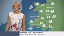Wales Weather: Dry, but not particularly bright!
