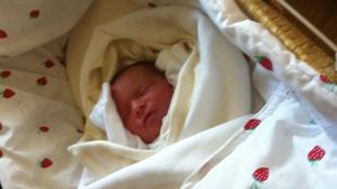 Newborn baby Martin