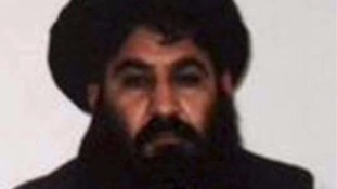 The Taliban acknowledged Mullah Mansour's (pictured) death