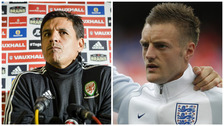 Chris Coleman wary of Jamie Vardy head of England match.