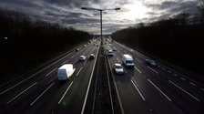 Lorry driver hospitalised after M6 accident