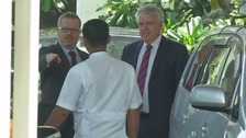 Carwyn Jones in Mumbai ahead of steel talks