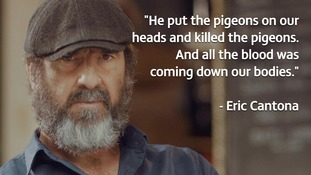 Man Utd legend Eric Cantona reveals bizarre dead pigeon ritual story whilst playing for Montpellier