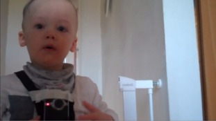 Bill Bennett strapped a go pro on his toddler for an insight into his day