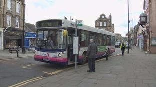 Scottish Borders bus routes facing axe