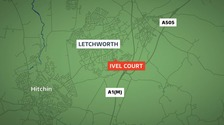 Officers were called to an address at Ivel Court last night.