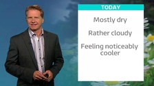 Simon has the ITV Meridian weather