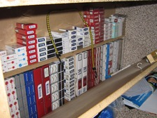 Out of the eight premises visited in Hanley, Longton and Stoke, seven were found to be selling illegal tobacco.