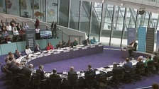 Sadiq Khan clashes with London Assembly during first Mayor's Question Time at City Hall