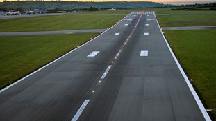 Pothole on the runway diverts Bristol Airport flights
