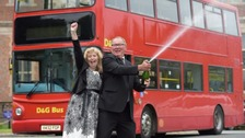 Bus driver who won £6.1m lottery went to work next day