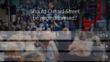 Live poll: Should Oxford Street be pedestrianised?
