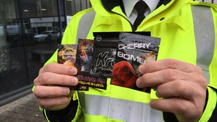 Legal highs will be banned tomorrow