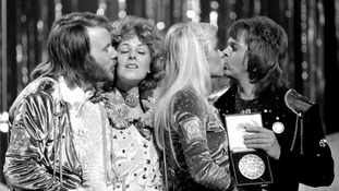 ABBA at the Eurovision song competition, 1974