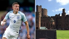 Jamie Vardy has wedding day 'party'
