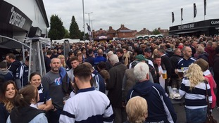 Army of rugby fans descend on Ashton Gate for big game