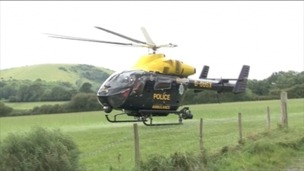 Sussex Police helicopter
