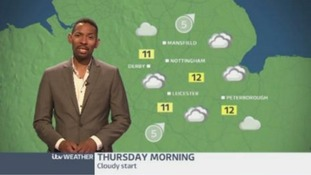 East Midlands Weather: some rain and drizzle