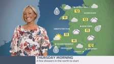 Wales Weather: Warm with bright spells today!
