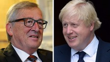 Johnson's EU view 'out of line with reality', says Juncker