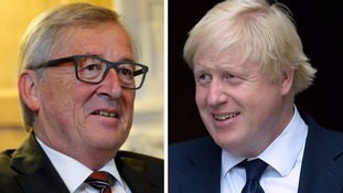 European Commission president tells ITV News Boris Johnson's view of EU is 'out of line with reality'