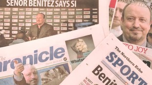 What the papers are saying about Rafa Benitez...