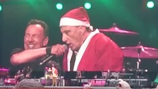 Christmas comes early for one Springsteen fan