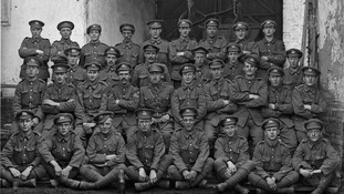 Thousands of photos of First World War soldiers showing them on the eve of battle found after a century