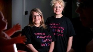 Bradford midwives are shortlisted for national award