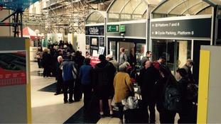 Railway misery over Bank Holiday Weekend