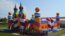 Made in Wales: The world's biggest bouncy castle