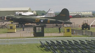 Preparations underway for American Air Show at Duxford