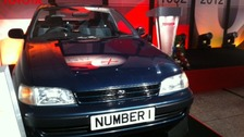 The first Toyota to leave the Derby production line 20 years ago