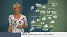 Wales weather: Showers in the south by early hours!