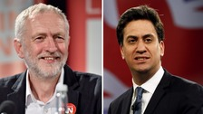 Corbyn and Miliband join forces for Remain campaign