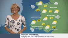 Wales Weather: Warm sunshine and sharp showers!