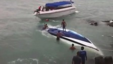 Briton killed after speedboat capsizes in Thailand