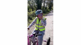 8-year-old in annual trike fundraiser