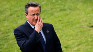 David Cameron blamed the scheduling of the G7 summit for not responding to migration figures that appeared to boost the Leave campaign.