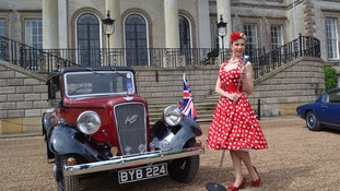 Performer Jayne Darling will be at the Classic Motor Show this weekend