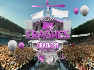 MTV to stage first Crashes live music event of the year in Coventry this weekend
